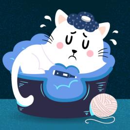 Así ataca el virus de inmunodeficiencia a tu gatito